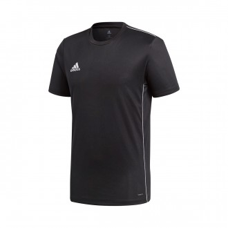 Jersey  adidas Core 18 Training m/c Black-White