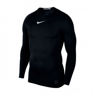 Camisola  Nike Pro Top Black-White