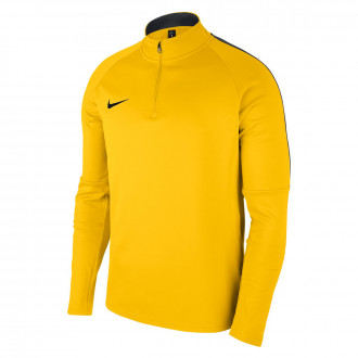 Sudadera  Nike Academy 18 Drill Tour yellow-Anthracite-Black