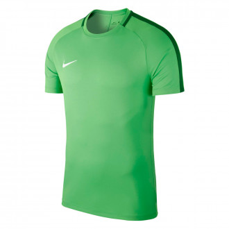 Maillot  Nike Academy 18 Training m/c Light green spark-Pine green-White