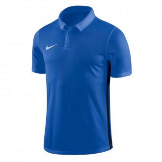 Polo shirt  Nike Dry Academy 18 Royal blue-Obsidian-White