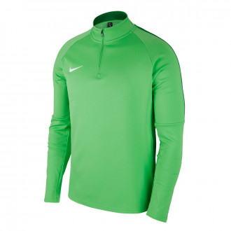 Sudadera  Nike Academy 18 Drill Light green spark-Pine green-White