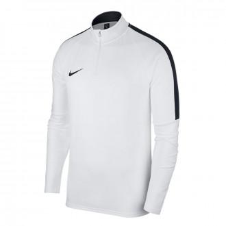 Sudadera  Nike Dry Academy 18 Dril White-Black