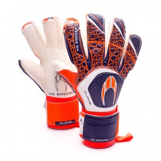 Guante  HO Soccer Clone Negative Orange-Blue