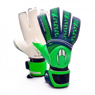 Glove  HO Soccer SSG Ikarus Roll/Negative Green-Blue