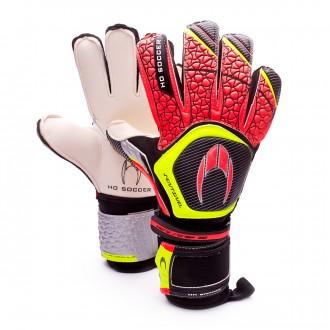 Glove  HO Soccer Sentinel Flat Red-Black