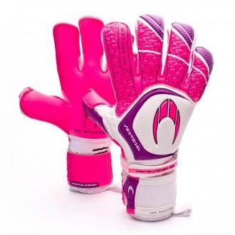 Guante  HO Soccer Sentinel Kontakt Evolution Pink-White