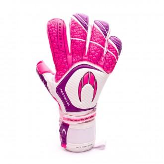Glove  HO Soccer Sentinel Kontakt Evolution Pink-White