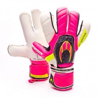 Guante  HO Soccer Kontakt Pink-Black
