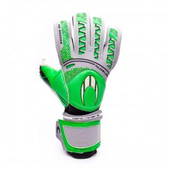 Glove  HO Soccer Ikarus Roll/Flat Green-Grey