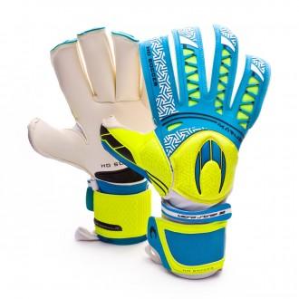 Glove  HO Soccer Ikarus Ergo Rollfinger Blue-Volt
