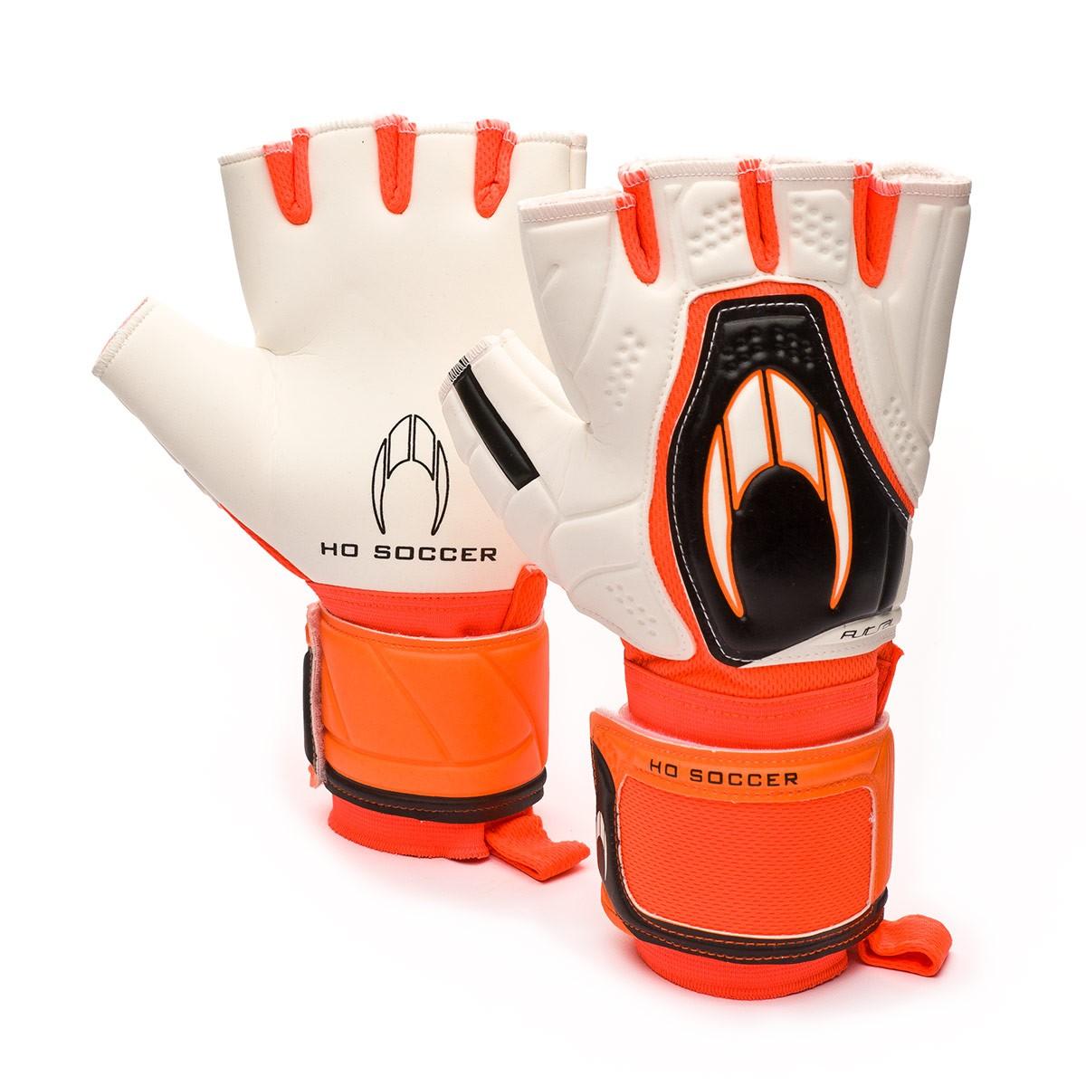 3f8e54540303 Glove HO Soccer Futsal White-Orange - Football store Fútbol Emotion