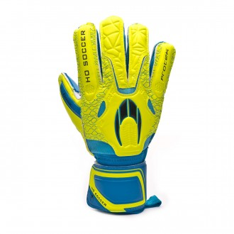 Luvas  HO Soccer Basic Protek Yellow-Blue