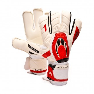 Luvas  HO Soccer One Kontakt Evolution White-Red