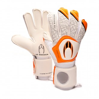 Glove  HO Soccer Coach HO Pro IV White-Orange