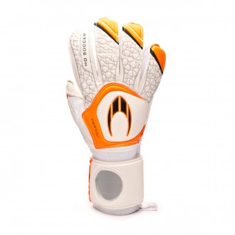 Luvas HO Soccer Coach HO Pro IV White-Orange