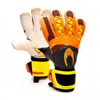 Glove  HO Soccer SSG Ikarus Roll/Gecko Black-Red-Volt