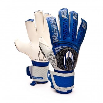 Guante  HO Soccer SSG Ikarus Roll/Flat Protek Blue-White