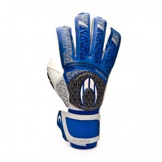 Glove  HO Soccer SSG Ikarus Roll/Flat Protek Blue-White