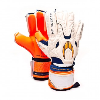 Guante  HO Soccer Protek Negative GEN2 White-Orange