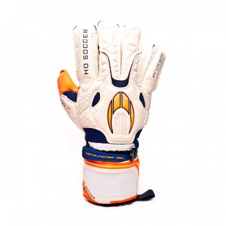 Luvas HO Soccer Protek Negative GEN2 White-Orange
