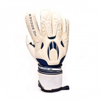 Glove HO Soccer Guerrero Roll White-Blue