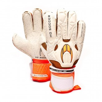 Glove  HO Soccer Guerrero Flat Extreme White-Orange