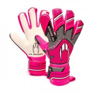 Glove  HO Soccer Supremo Clone Negative Pink