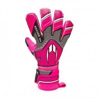 Guante  HO Soccer Supremo Clone Negative Pink