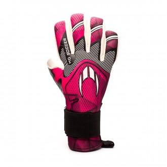 Guante  HO Soccer Supremo Pro Negative Pink
