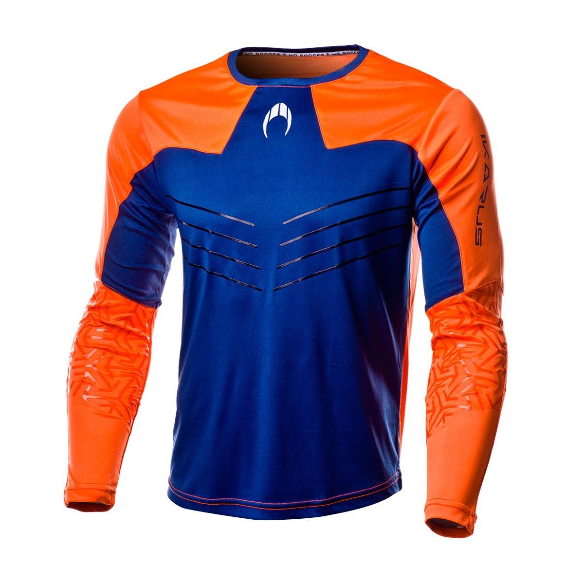 cb11d8fe72d3d Jersey HO Soccer Ikarus 2018 Orange-Blue - Football store Fútbol Emotion