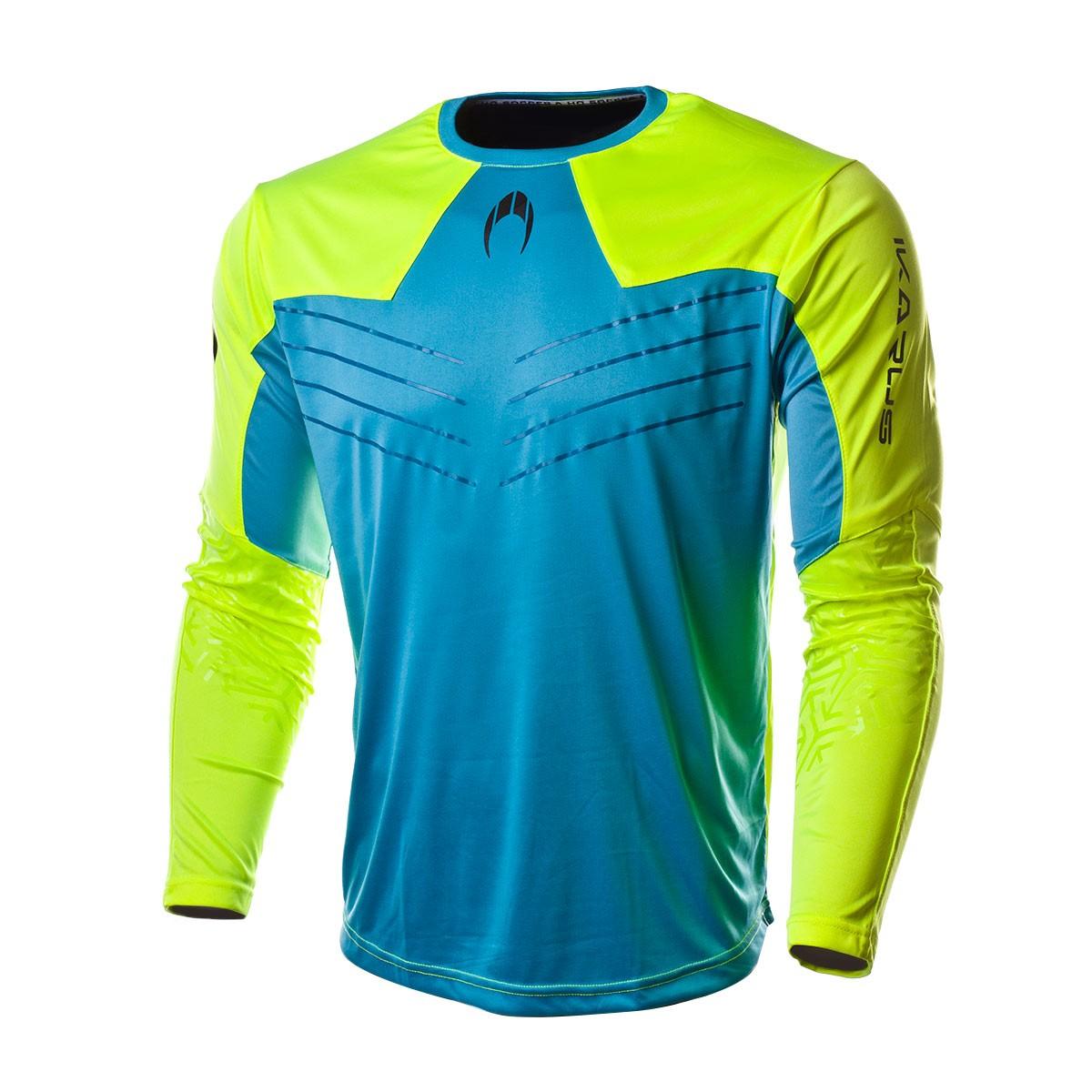4b221459c7205 Jersey HO Soccer Ikarus 2018 Blue-Lime - Football store Fútbol Emotion
