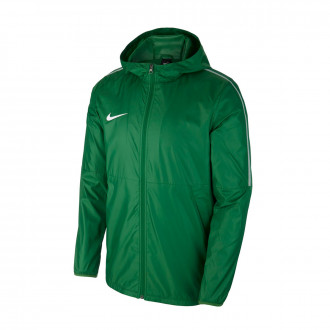 Raincoat  Nike Park 18 Pine Green-White