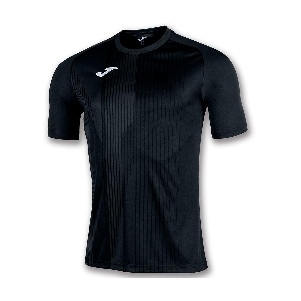 5faf0ea5934 Jersey Joma Tiger m/c Black - Football store Fútbol Emotion