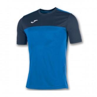 Camiseta  Joma Winner m/c Azul royal-Azul marino