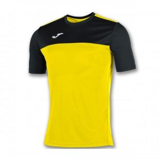 Camiseta  Joma Winner m/c Amarillo-Negro
