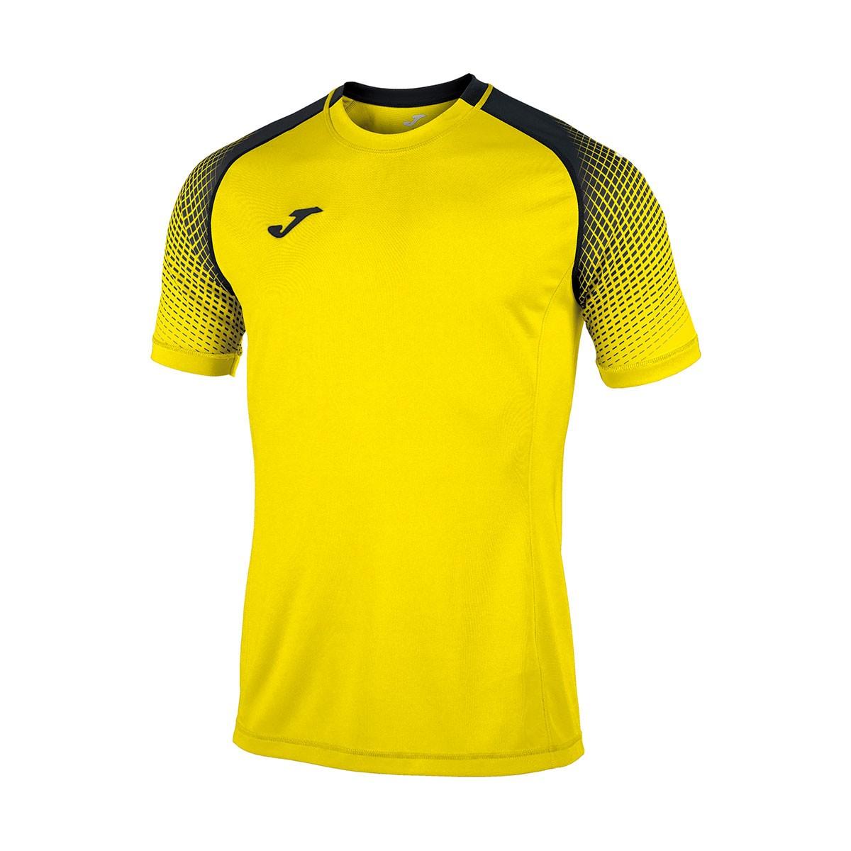 e37af10f2 Jersey Joma Hispa m c Yellow-Black - Football store Fútbol Emotion