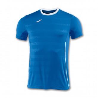 Camiseta  Joma Modena m/c Azul royal-Blanco
