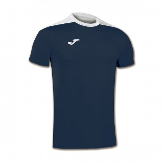 Camiseta  Joma Spike m/c Azul marino-Blanco