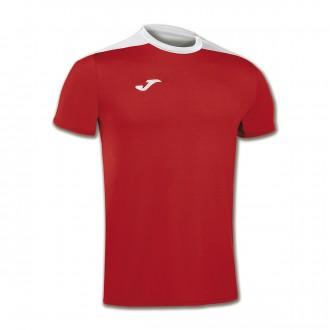 Camiseta  Joma Spike m/c Rojo-Blanco