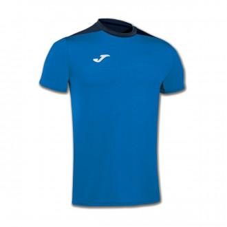 Camiseta  Joma Spike m/c Azul royal-Azul marino