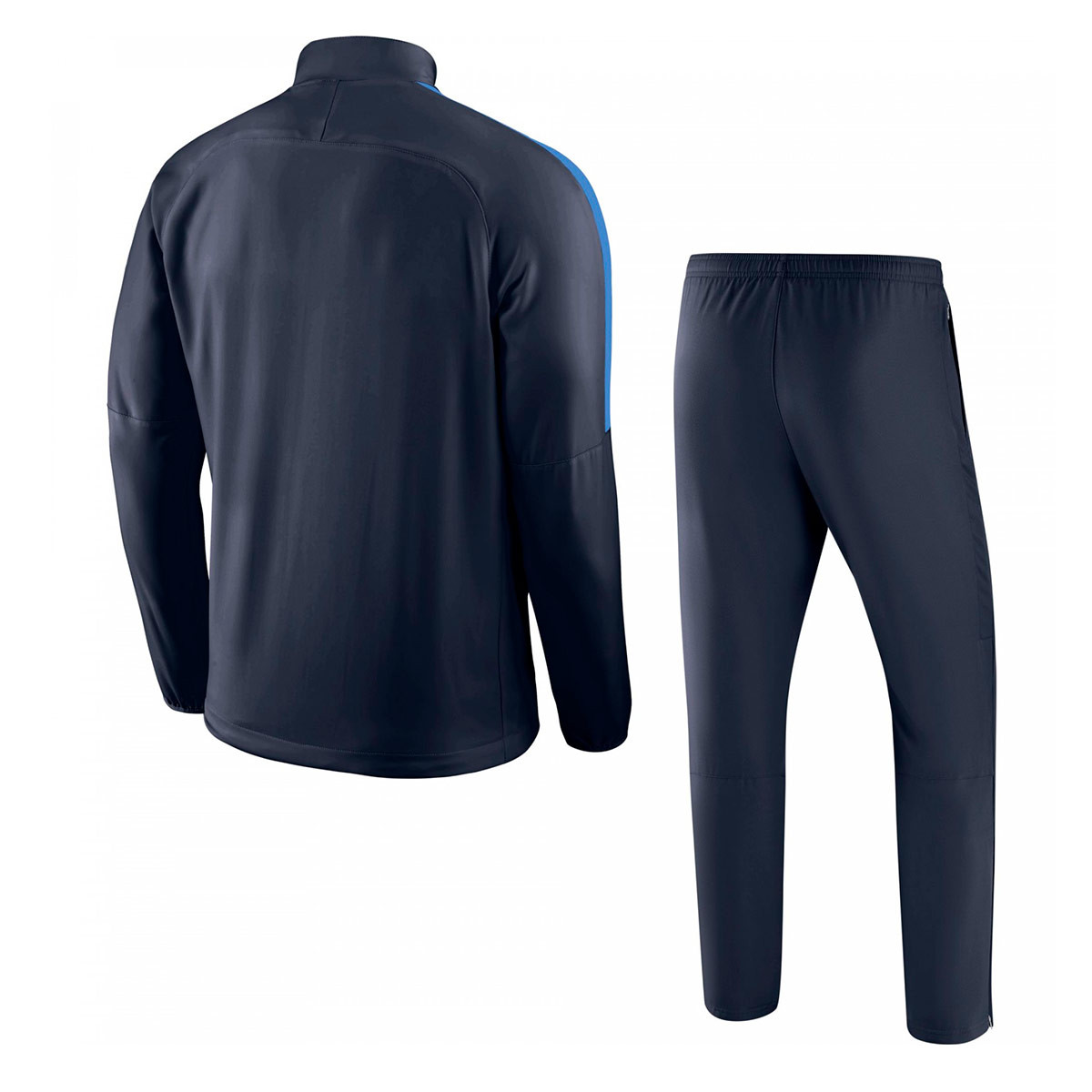 ae5249de28187 Tracksuit Nike Academy 18 Woven Obsidian-Royal blue-White - Football store  Fútbol Emotion