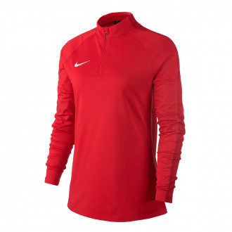 Sudadera  Nike Academy 18 Drill Mujer University red-Gym red-White