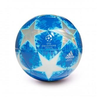 Bola de Futebol  adidas Finale18 Top Capitano Multicolor-Football blue-Bright cyan-Collegia