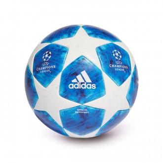 Bola de Futebol  adidas Finale18 OMB White-football blue-Bright cyan-Collegiate ro