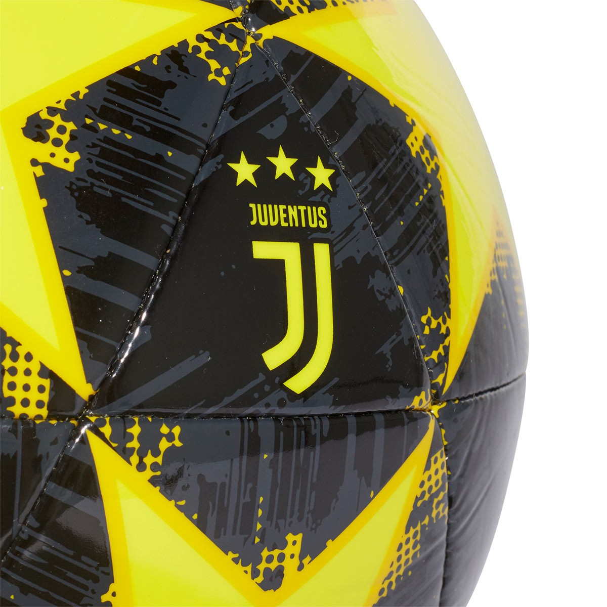 cb74e6f416c Ball adidas Finale18 Juventus Capitano 2018-2019 Shock  yellow-Yellow-Carbon-Black - Football store Fútbol Emotion