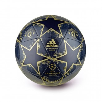 Balón  adidas Finale18 Manchester United FC Capitano Collegiate navy-Matte gold-Night navy