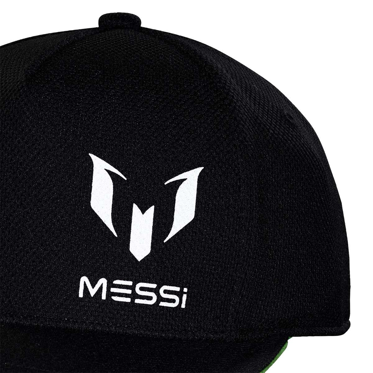 ffdc07cd9ec03 Cap adidas Kids Messi Black-Solar green - Tienda de fútbol Fútbol Emotion