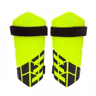 Espinillera  adidas X Lite Solar yellow-Yellow-Black