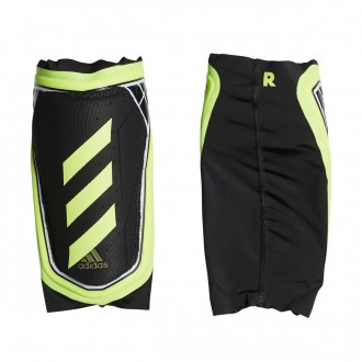Shinpads  adidas X Foil Black-Solar yellow-White